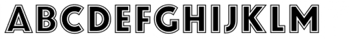 Zamenhof College Font UPPERCASE