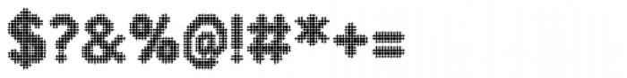 Zampichi Faded Font OTHER CHARS