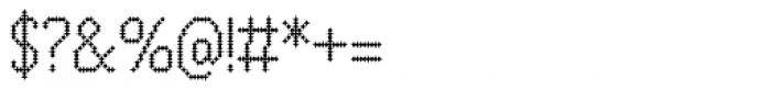 Zampichi Fineline Font OTHER CHARS