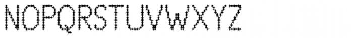 Zampichi Fineline Font UPPERCASE