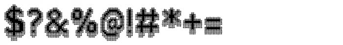 Zampichi Razor Three-D Font OTHER CHARS