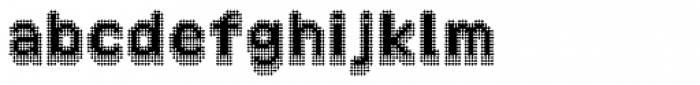 Zampichi Razor Three-D Font LOWERCASE