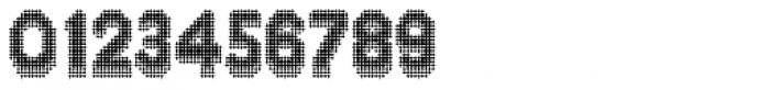 Zampichi Solid Three-D Font OTHER CHARS
