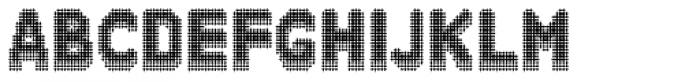 Zampichi Solid Three-D Font UPPERCASE
