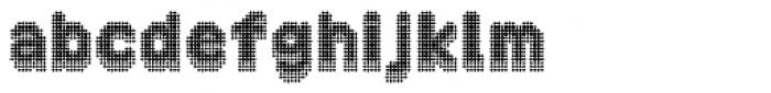 Zampichi Solid Three-D Font LOWERCASE