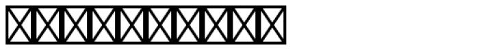 Zanderley Initials Font OTHER CHARS