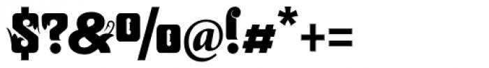 Zanderley Font OTHER CHARS