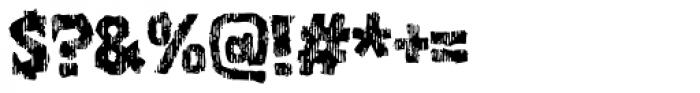Zanoix Font OTHER CHARS