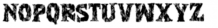 Zanoix Font UPPERCASE