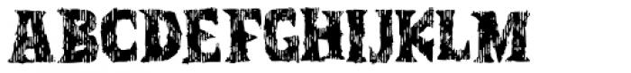 Zanoix Font LOWERCASE
