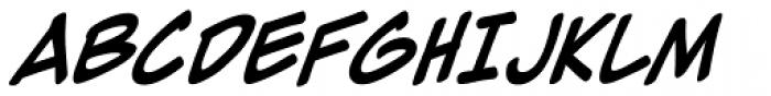 Zap Raygun 2 Italic Font LOWERCASE