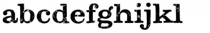 Zapatista Font LOWERCASE