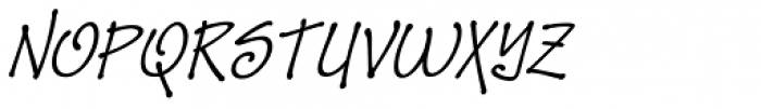 Zape Small Caps Italic Font LOWERCASE