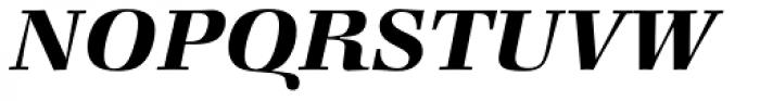 Zapf Book Demi Italic Font UPPERCASE