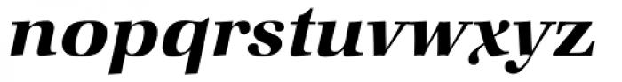 Zapf Book Demi Italic Font LOWERCASE