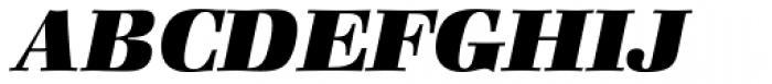 Zapf Book Heavy Italic Font UPPERCASE