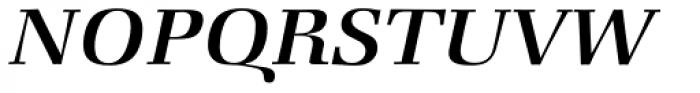 Zapf Book Medium Italic Font UPPERCASE