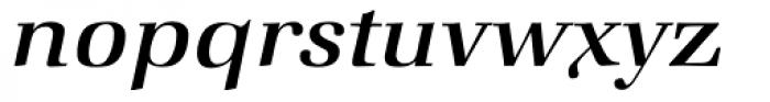 Zapf Book Medium Italic Font LOWERCASE