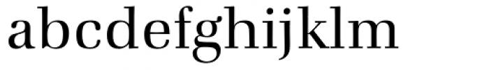 Zapf Book Font LOWERCASE
