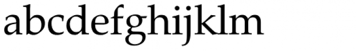 Zapf Calligraphic 801 Font LOWERCASE
