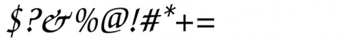 Zapf Chancery Medium Italic Font OTHER CHARS