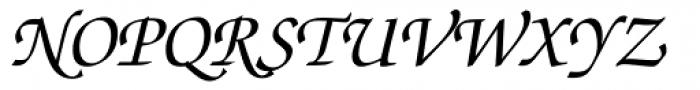 Zapf Chancery Medium Italic Font UPPERCASE