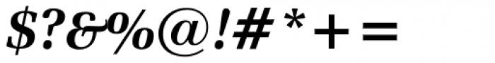Zapf Elliptical 711 BT Bold Italic Font OTHER CHARS