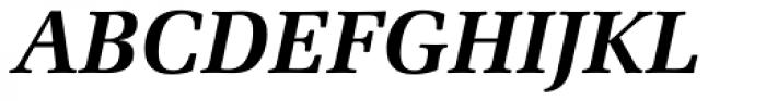Zapf Elliptical 711 BT Bold Italic Font UPPERCASE