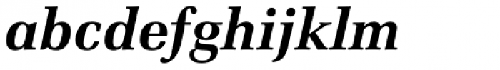 Zapf Elliptical 711 BT Bold Italic Font LOWERCASE