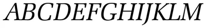 Zapf Elliptical 711 Italic Font UPPERCASE