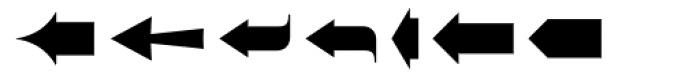 Zapf Essentials Arrows One Font UPPERCASE