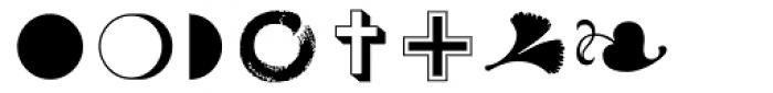 Zapf Essentials Markers Font UPPERCASE