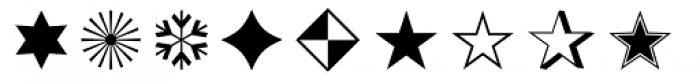 Zapf Essentials Ornaments Font LOWERCASE