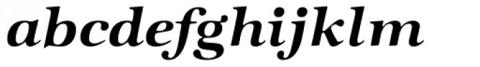 Zapf Intl Demi Italic Font LOWERCASE