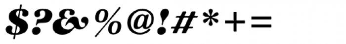 Zapf Intl Heavy Italic Font OTHER CHARS