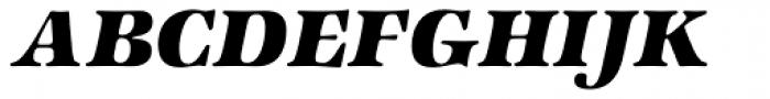 Zapf Intl Heavy Italic Font UPPERCASE