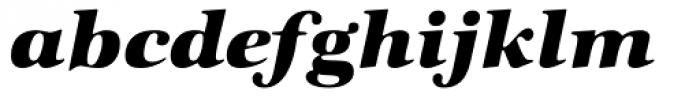 Zapf Intl Heavy Italic Font LOWERCASE