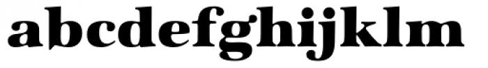 Zapf Intl Heavy Font LOWERCASE