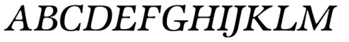 Zapf Intl Medium Italic Font UPPERCASE