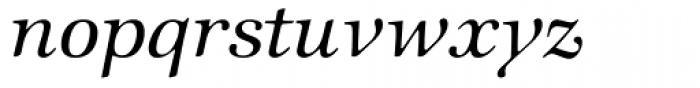 Zapf Intl Medium Italic Font LOWERCASE