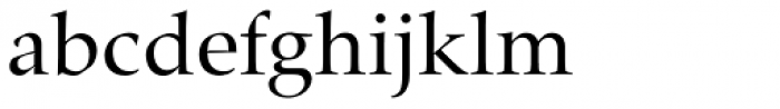 Zapf Renais SB Book Font LOWERCASE