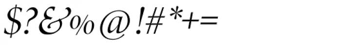 Zapf Renais SB Italic Swash Font OTHER CHARS
