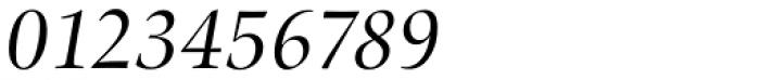 Zapf Renais SB Italic Font OTHER CHARS