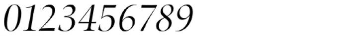 Zapf Renais SB Light Italic Font OTHER CHARS