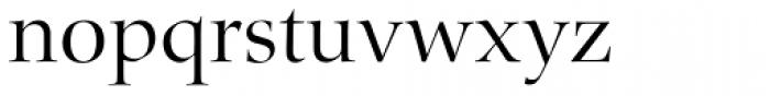 Zapf Renais SB Light Font LOWERCASE