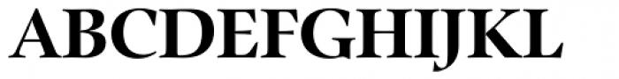 Zapf Renaissance B EF Bold Font UPPERCASE