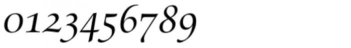 Zapf Renaissance B EF Book Italic SC Font OTHER CHARS