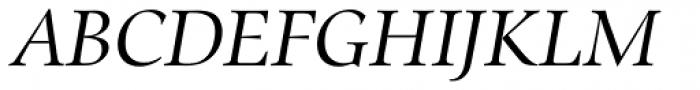 Zapf Renaissance B EF Book Italic SC Font UPPERCASE