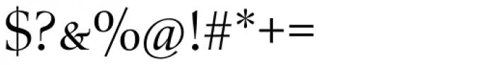 Zapf Renaissance B EF Book SC Font OTHER CHARS