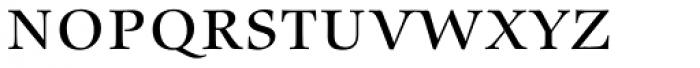 Zapf Renaissance B EF Book SC Font LOWERCASE